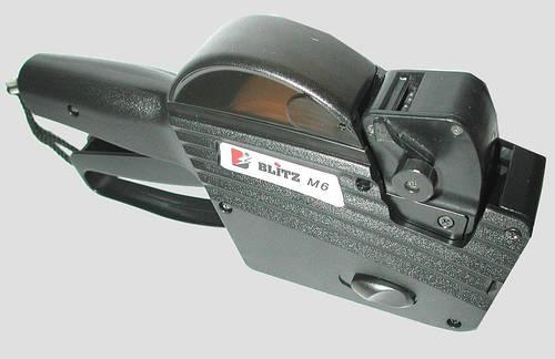 Этикет-пистолет BLITZ (OPEN) M6 (однострочный)