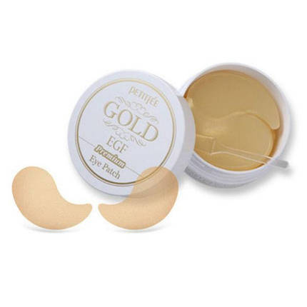 Гидрогелевые патчи для век Petitfee Premium Gold & EGF Hydrogel Eye Patch, 60 шт, фото 2