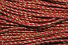Шнур 5мм (50м) красный + золото