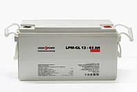 Аккумулятор гелевый LPM-GL 12 - 65 AH