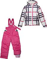 Костюм демисезонный: куртка и полукомбинезон на девочку р-р 98-104, Bebepa