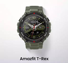 Смарт-часы XIAOMI Amazfit T-Rex Aarmy Green GLOBAL