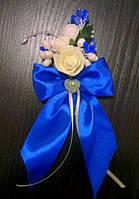 Бутоньерка роза айвори