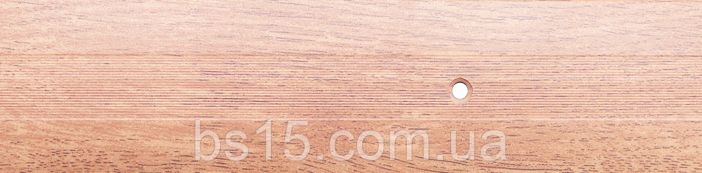 Порог алюминиевый 22А 1,8 метра дуб натуральный 5х60мм , фото 1