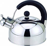 Чайник со свистком Con Brio 2,5 л.