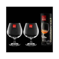 """Набор бокалов для бренди """"Golden set"""", 400ml, 2шт/упак. в тубусе"""