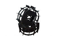 Колеса с грунтозацепами Ø 560мм (профильная труба 15х15) Агромарка