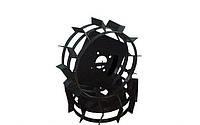 Колеса с грунтозацепами Ø 560 мм (квадрат 10х10 ) Агромарка
