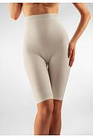 Антицеллюлитные шорты до колена с высокой талией FarmaCell Short Top Massage Milk 413