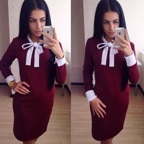 Купить платье марсала