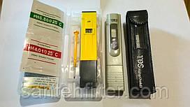 Прибор для определения чистоты TDS (ТДС) метр ( солемер ) + PH метр ( измеритель кислотности, щелочности воды)