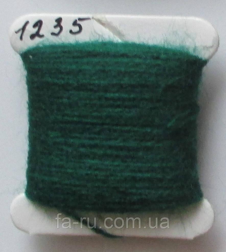 Акрил для вышивки: глубокий зелёный