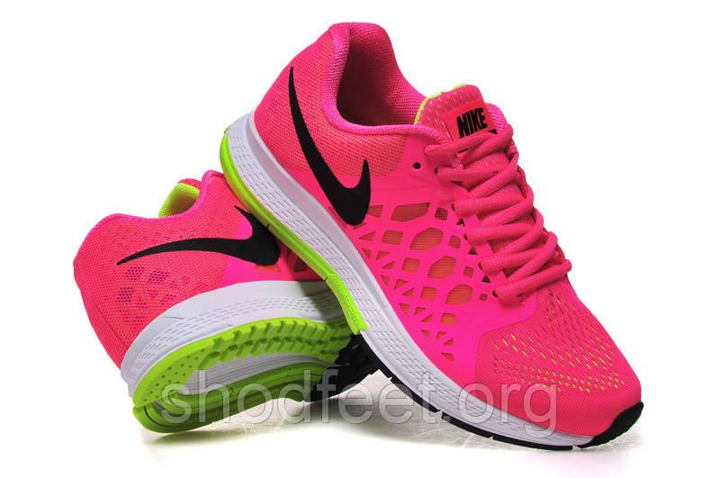 Женские кроссовки Nike Air Zoom Pegasus 31 Pink/Black/Volt