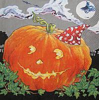 Декупажная салфетка Тыква на Хеллоуин 3005