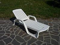 Лежак ZANZIBAR, Италия - белый