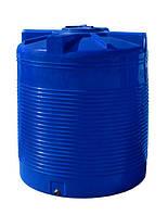 Емкость 2000 литров вертикальная, двухслойная - 135 х 155 см Ротоевропласт