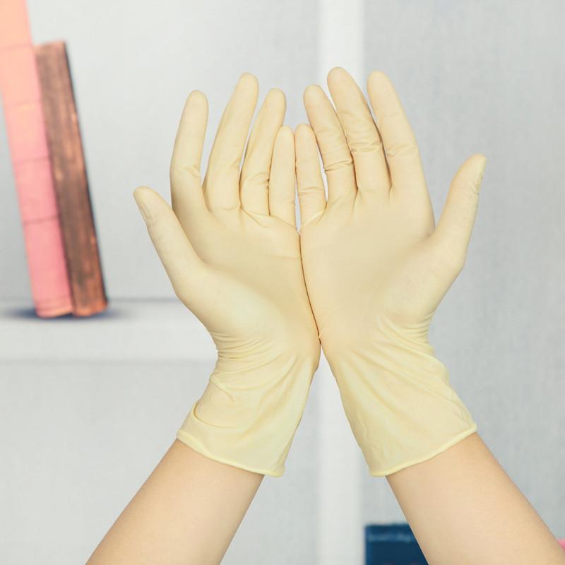 Перчатки латексные одноразовые опудренные (100 шт/уп)