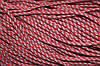 Шнур 5мм с наполнителем (100м) красный + серый