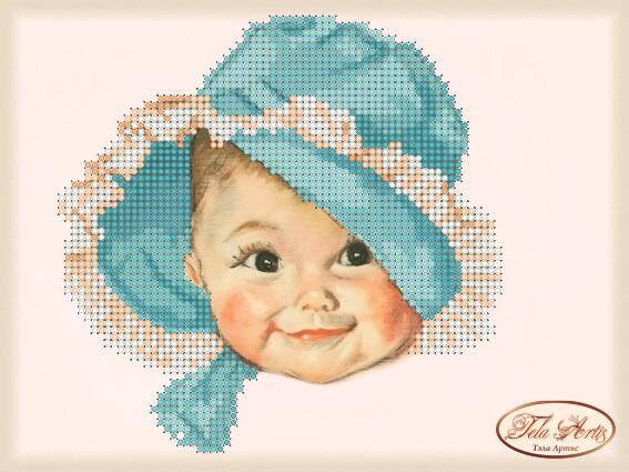 """Рисунок на ткани для вышивания бисером """"Лапусик"""", фото 2"""