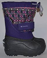Детские зимние сапоги сноубутсы Columbia Sportswear, р-р 21/22, оригинал