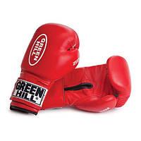 "Перчатки боксерские ""ZEES"" Green Hill кожа 10 oz"