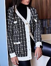 Жіночий кардиган під «Chanel»
