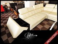 Кожаный уголок,угловой диван Etna II, шкіряний куток