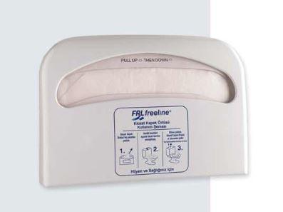 Диспенсер для одноразовых бумажных сидений на унитаз АБС пластик, 1090 белый