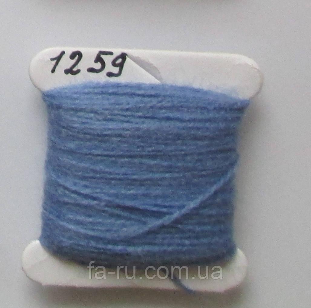 Акрил для вышивки: синяя сталь