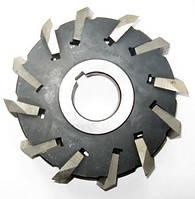 Фреза дисковая трехсторонняя ф 160х36 мм Р18 со вставными ножами