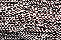 Шнур 5мм с наполнителем (100м) белый + коричневый (шоколад), фото 1