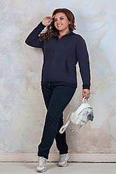 Спортивний костюм жіночий великих розмірів