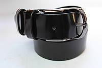 Ремень кожаный лаковый №2 35 мм