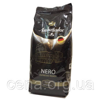 """Кофе в зернах """"Ambassador Nero"""" 1 кг - Цена в Одессе"""