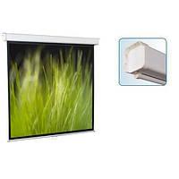 Экран для проектора настенный 180*180 SGM-1103 Redleaf