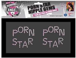 Наклейки на тело из камней Joanna Angel Porn Star Nipple Gems