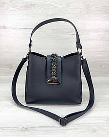 Жіноча сумка Саті синього кольору