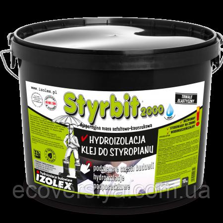 Клей для пенополистирола, мастика для гидроизоляции Styrbit 2000 (Стирбит 2000, Изолекс)