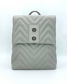 Сумка-рюкзак «Харпер» сірий