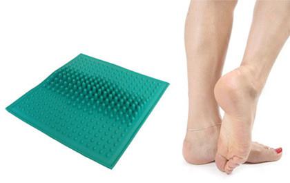 массажный коврик, резиновый массажный коврик, коврик от плоскостопия
