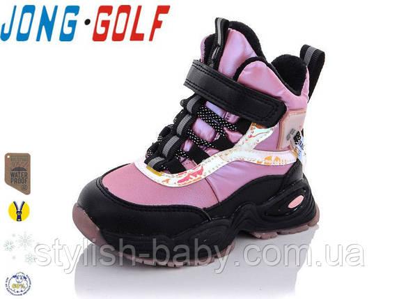 Дитяче взуття оптом. Дитяче зимове взуття 2021 бренду Jong Golf для дівчаток (рр. з 22 по 27), фото 2