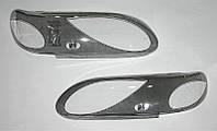 KORRIDA - Защита фар, ударопрочный пластик с элементами шелкографии на ВАЗ 2115, Е-45-2, (Капля)