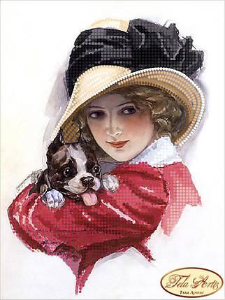 """Рисунок на ткани для вышивания бисером """"Софи"""", фото 2"""