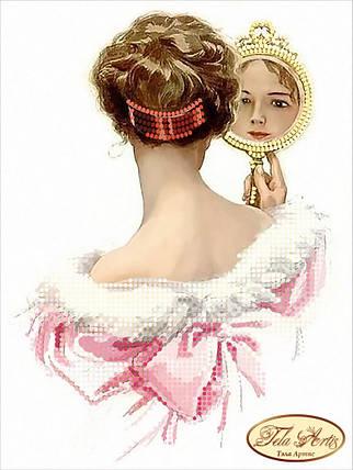 """Рисунок на ткани для вышивания бисером """"Жаклин"""", фото 2"""