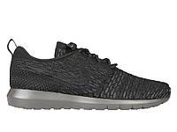 Кроссовки Nike Roshe Run Flyknit  Black Midnight , фото 1