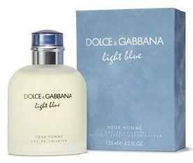 Мужская туалетная вода Dolce&Gabbana Light Blue Pour Homme 125 мл (Euro A-Plus)