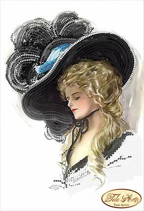 """Рисунок на ткани для вышивания бисером """"Маргарет"""", фото 2"""