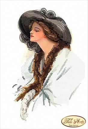 """Рисунок на ткани для вышивания бисером """"Анна"""", фото 2"""