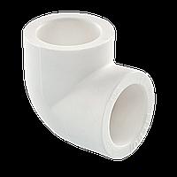 Угол полипропиленовый 40х90* Tebo белый, фото 1