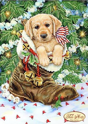 """Рисунок на ткани для вышивания бисером """"Подарок"""", фото 2"""